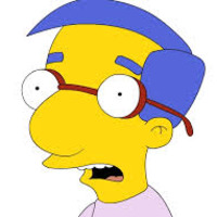 Milhouse Van Houten played by Pamela Hayden