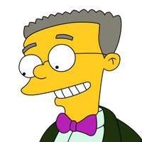 Waylon Smithers played by Harry Shearer