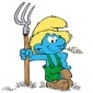Farmer Smurf played by Alan Young