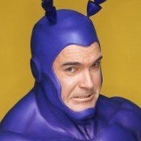 The Tick played by Patrick Warburton