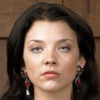 Anne Boleyn played by Natalie Dormer