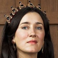 Queen Catherine of Aragon played by Maria Doyle Kennedy