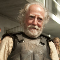 Hershel Greene played by Scott Wilson