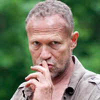 Merle Dixon played by Michael Rooker
