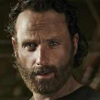 Rick Grimes played by Andrew Lincoln
