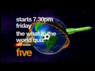 The What in the World Quiz (UK) tv show photo