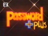 Password Plus TV Show