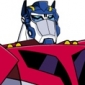 Optimus Prime played by David Kaye