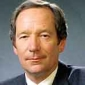 Michael Buerk played by Michael Buerk