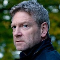 Kurt Wallander played by Kenneth Branagh