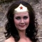 Wonder Woman played by Lynda Carter